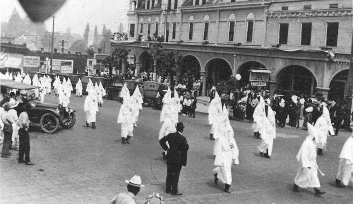 Portland KKK march